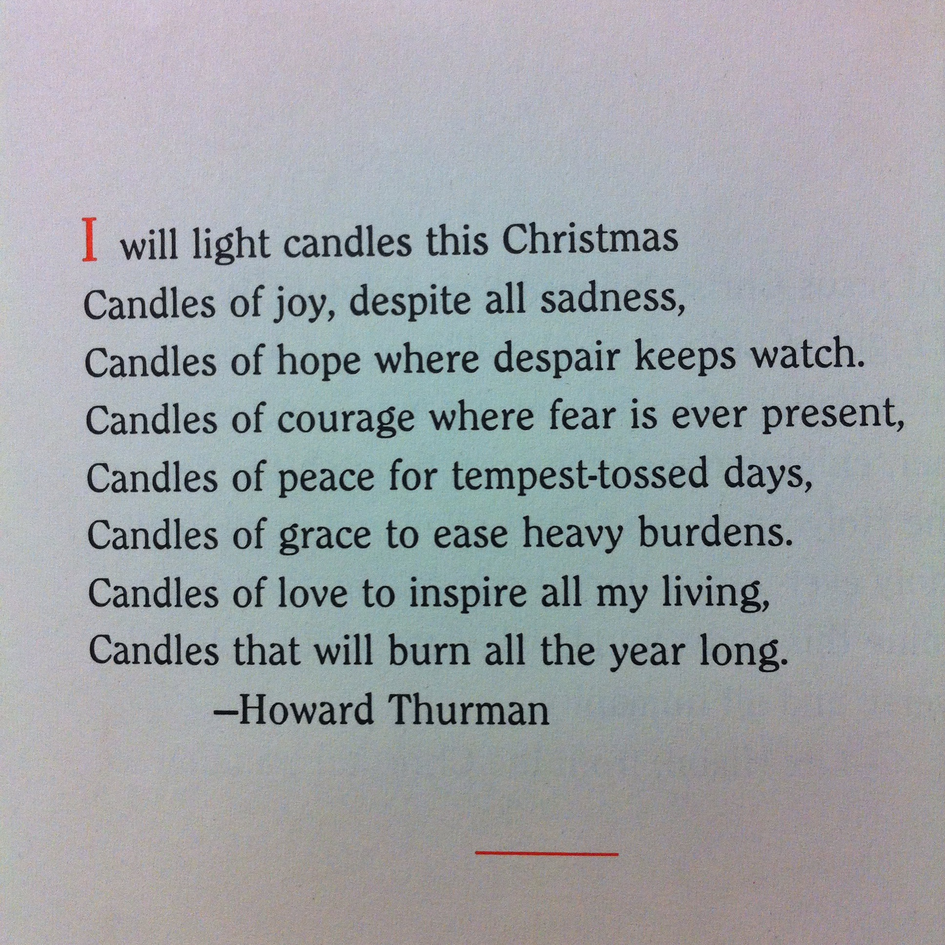 howard thurman | martinistyle